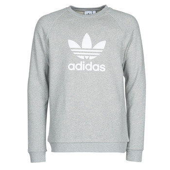 Textiel Heren Sweaters / Sweatshirts adidas Originals TREFOIL CREW Grijs