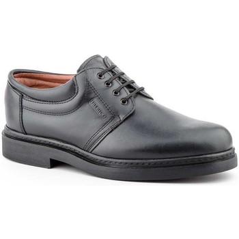 Schoenen Heren Derby Iberico Shoes Zapatos con cordones de piel de hombre by Iberico Noir