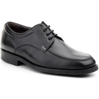 Schoenen Heren Derby Nikkoe Shoes For Men Zapatos con cordones de piel de hombre by Nikkoe Noir