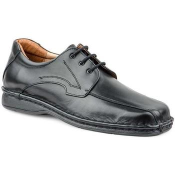 Schoenen Heren Derby Cactus Calzados Zapatos Derby Crispinos de piel by Cactus Noir
