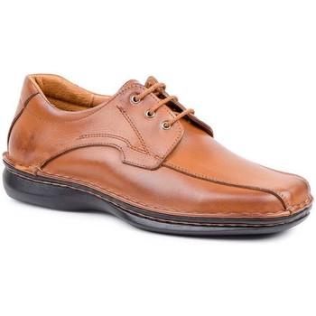 Schoenen Heren Derby Cactus Calzados Zapatos Derby Crispinos de piel by Cactus Marron