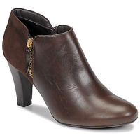 Schoenen Dames Enkellaarzen Moony Mood NOULETTE Brown