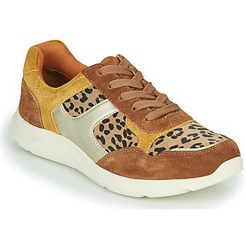 Schoenen Dames Lage sneakers Damart 62328 Beige / Geel