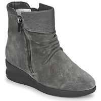 Schoenen Dames Laarzen Damart 64305 Grijs