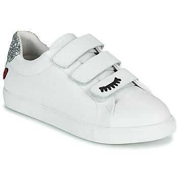 Schoenen Dames Lage sneakers Bons baisers de Paname EDITH EYES Wit