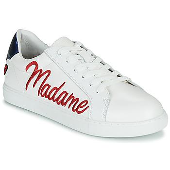 Schoenen Dames Lage sneakers Bons baisers de Paname SIMONE MADAME MONSIEUR Wit