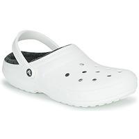 Schoenen Klompen Crocs CLASSIC LINED CLOG Wit