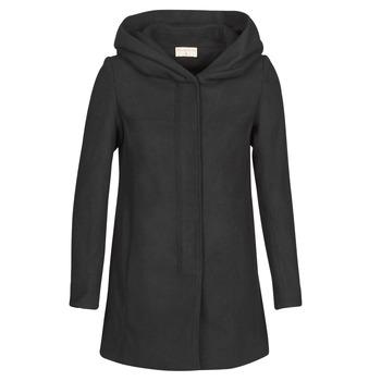 Textiel Dames Mantel jassen Moony Mood NANTE Zwart
