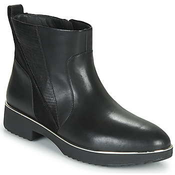 Schoenen Dames Laarzen FitFlop SALMA  zwart