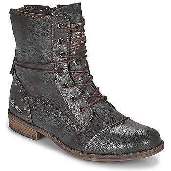 Schoenen Dames Laarzen Mustang 1157508 Grijs