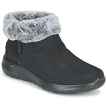 Schoenen Dames Laarzen Skechers ON-THE-GO JOY  zwart