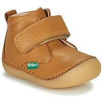 Schoenen Kinderen Laarzen Kickers SABIO  camel