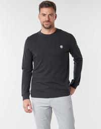 Textiel Heren T-shirts met lange mouwen Timberland LS Dunstan River Tee Zwart