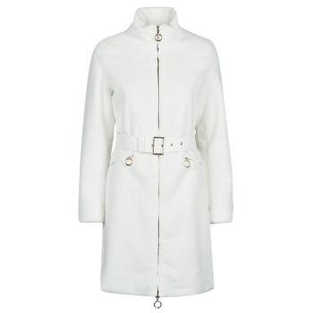 Textiel Dames Mantel jassen Marciano MARBREE FUR COAT Creme