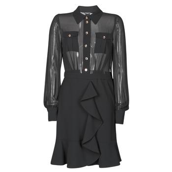 Textiel Dames Korte jurken Marciano CAROL SHORT DRESS Zwart