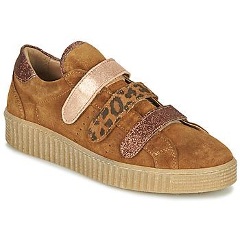 Schoenen Dames Lage sneakers Philippe Morvan ZEUS2 V1 SILKY CAMEL Brown