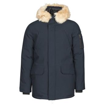 Textiel Heren Parka jassen Schott NELSON20 Marine