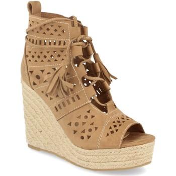 Schoenen Dames Sandalen / Open schoenen Buonarotti 1A-0005 Beige