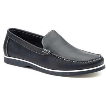Schoenen Heren Bootschoenen Iberico Shoes Zapatos nauticos de piel con cordones by Iberico Bleu