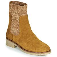 Schoenen Dames Laarzen Bensimon BOOTS CHAUSSETTE Brown