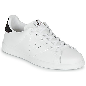 Schoenen Dames Lage sneakers Victoria TENIS PIEL Wit / Bordeaux