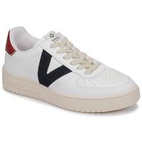 Schoenen Lage sneakers Victoria SIEMPRE PIEL VEG Wit / Blauw / Rood