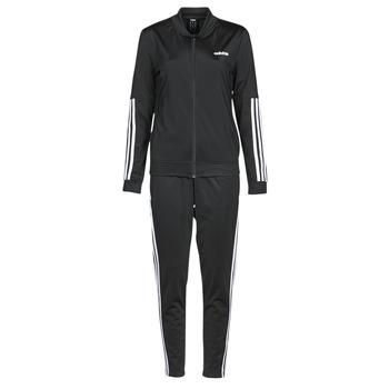 Textiel Dames Trainingspakken adidas Performance WTS BACK2BAS 3S Zwart