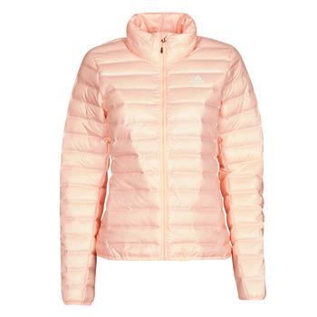 Textiel Dames Dons gevoerde jassen adidas Performance W Varilite J Brume / Corail