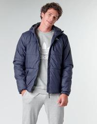 Textiel Heren Dons gevoerde jassen adidas Performance BSC HOOD INS J Encre / Légende
