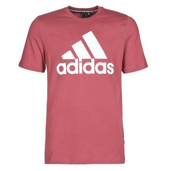 Textiel Heren T-shirts korte mouwen adidas Performance MH BOS Tee Rood / Heritage