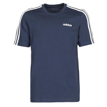 Textiel Heren T-shirts korte mouwen adidas Performance E 3S TEE Encre / Légende
