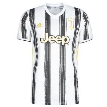 Textiel T-shirts korte mouwen adidas Performance JUVE H JSY Wit / Zwart