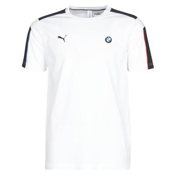Textiel Heren T-shirts korte mouwen Puma BMW MMS MS T7 TEE Wit