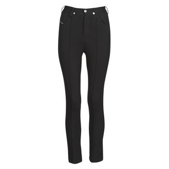 Textiel Dames 5 zakken broeken Diesel P-CUPERY Noir9xx