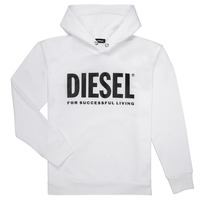 Textiel Jongens Sweaters / Sweatshirts Diesel SDIVISION LOGO Wit