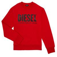 Textiel Jongens Sweaters / Sweatshirts Diesel SCREWDIVISION LOGO Rood