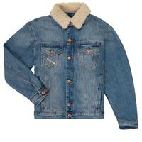 Textiel Jongens Spijker jassen Diesel JRESKY Blauw
