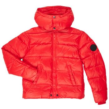 Textiel Jongens Dons gevoerde jassen Diesel JSMITHYAWH Rood