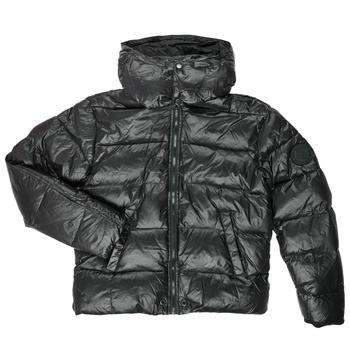 Textiel Jongens Dons gevoerde jassen Diesel JSMITHYAWH Zwart