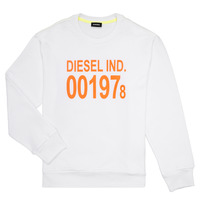 Textiel Kinderen Sweaters / Sweatshirts Diesel SGIRKJ3 Wit