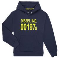 Textiel Kinderen Sweaters / Sweatshirts Diesel SGIRKHOOD Blauw