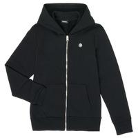 Textiel Jongens Sweaters / Sweatshirts Diesel SROGER Zwart