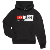 Textiel Kinderen Sweaters / Sweatshirts Diesel SGIRKHOODCUTY Zwart