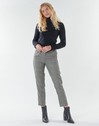 Textiel Dames 5 zakken broeken Freeman T.Porter SHELBY MERCURY Grijs