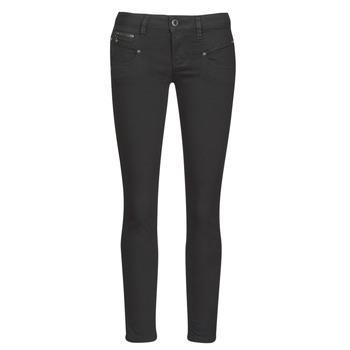 Textiel Dames Skinny jeans Freeman T.Porter ALEXA CROPPED S-SDM Zwart