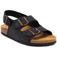 Schoenen Heren Sandalen / Open schoenen Morxiva Shoes Sandalias Bio de hombre de piel by Morxiva Noir