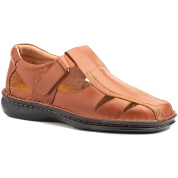 Schoenen Heren Sandalen / Open schoenen Cactus Calzados Sandalias de hombre de piel by Cactus Marron