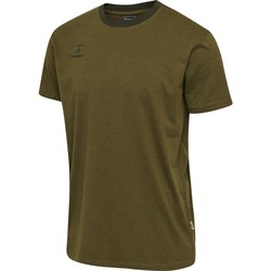Textiel Heren T-shirts korte mouwen Hummel T-shirt  Lmove vert foncé