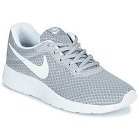 Schoenen Dames Lage sneakers Nike TANJUN Grijs / Wit