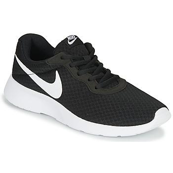 Schoenen Dames Lage sneakers Nike TANJUN Zwart / Wit